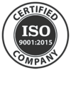 ISO 9001:2015 Certified by SAI Global