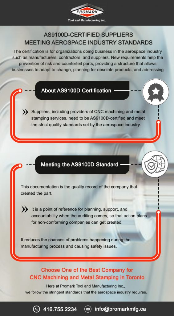 AS9100D Certified Suppliers Meeting Aerospace IndustryStandards